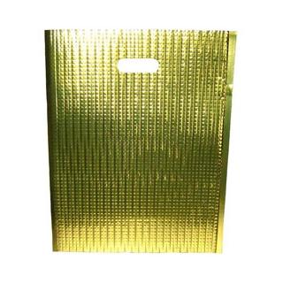 【まとめ買い10個セット品】保冷・保温バッグ エスケークール ゴールド(10枚入)LC-M【 運搬・ケータリング 】 【ECJ】