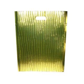 【まとめ買い10個セット品】保冷・保温バッグ エスケークール ゴールド(10枚入)LC-L【 運搬・ケータリング 】 【ECJ】