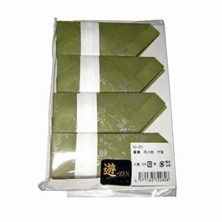 【まとめ買い10個セット品】 【業務用】箸膳 花小紋(100枚入)KO-Z01 竹笹