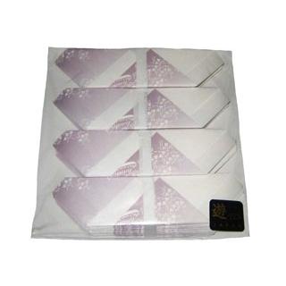 【まとめ買い10個セット品】お箸包み 華かすみ(100枚入)OHK-06 しょうぶ【 カトラリー・箸 】 【ECJ】