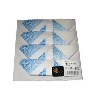【まとめ買い10個セット品】お箸包み 華かすみ(100枚入)OHK-07 青海波【 カトラリー・箸 】 【ECJ】