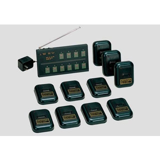 【業務用】コードレスチャイム10セット コンパクトタイプ レザー C-2 【 メーカー直送/後払い決済不可 】