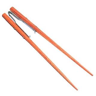 【まとめ買い10個セット品】 【業務用】らくらくお箸(ピンセットタイプ)NO.512 19.5cm