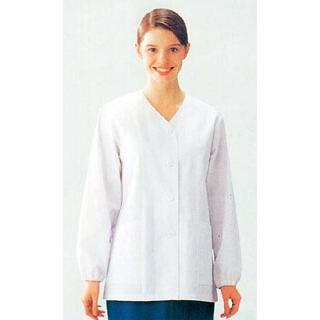 【まとめ買い10個セット品】 【業務用】女性用コート(調理服)AA336-8 17号