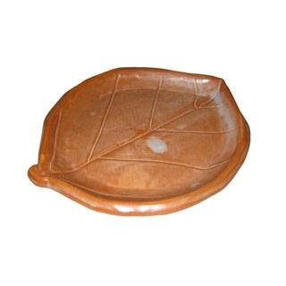 【まとめ買い10個セット品】 【業務用】陶板焼 ニュー木の葉 T-2 小 志野風