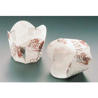 【まとめ買い10個セット品】 【業務用】チューリップカップ(100枚入)白 M-303 φ45