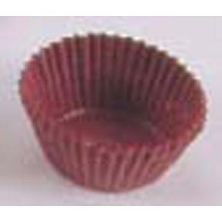 【まとめ買い10個セット品】グラシンケース(1000枚入)6号 深型 茶【 製菓・ベーカリー用品 】 【ECJ】