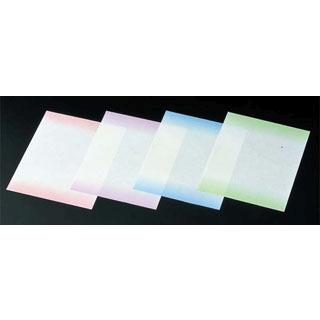 【まとめ買い10個セット品】 【業務用】耐油 天紙 ぼかし(300枚入)M30-265 グリーン
