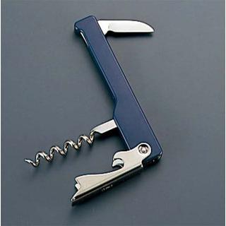 【まとめ買い10個セット品】カラー ウェイターナイフ 50511(ブルー)【 ワイン・バー用品 】 【ECJ】