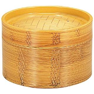 【まとめ買い10個セット品】 【業務用】耐熱蒸しセイロ 白木 身(目皿付)HPM-101M3