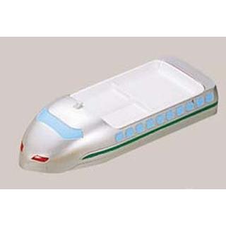 【まとめ買い10個セット品】 【業務用】メラミン ランチ皿 ニュー新幹線 シルバー