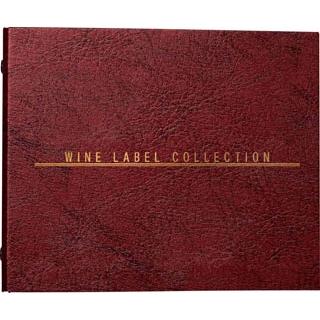 【まとめ買い10個セット品】 【業務用】ワインラベルコレクション用リングファイル