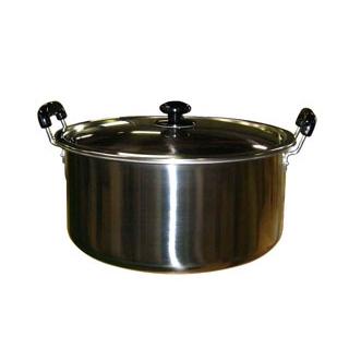 【まとめ買い10個セット品】 【業務用】EBM モリブデン 実用鍋(両手)39cm 【20P05Dec15】