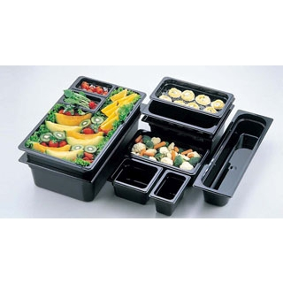 【まとめ買い10個セット品】 キャンブロ フードパン 1/1-65mm 12CW(110)ブラック 【ECJ】【 ストックポット・保存容器 】
