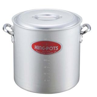【まとめ買い10個セット品】 【業務用】キングアルマイト 寸胴鍋(目盛付)30cm