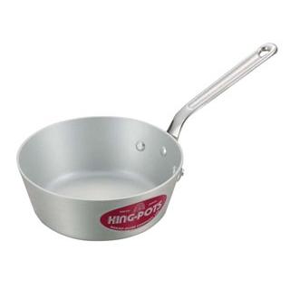 【まとめ買い10個セット品】 【業務用】キングアルマイト テーパー鍋(目盛付)18cm
