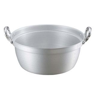 【まとめ買い10個セット品】 【業務用】キングアルマイト 打出 料理鍋(目盛付)42cm