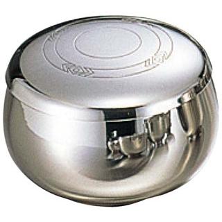 【まとめ買い10個セット品】朝鮮食器 18-10 極厚 飯碗(蓋付)模様入 M H73【 和・洋・中 食器 】 【ECJ】