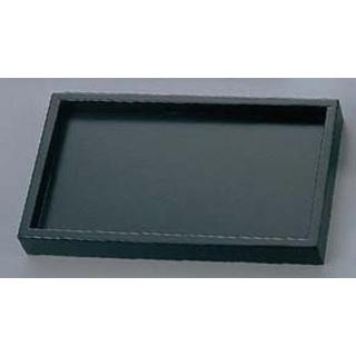 【まとめ買い10個セット品】 【業務用】浅型 カスター盆 小 ブラック M40-909