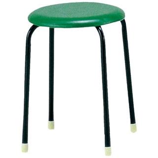 【まとめ買い10個セット品】 【業務用】丸椅子 C-19(10脚入)グリーン 【 メーカー直送/代金引換決済不可 】