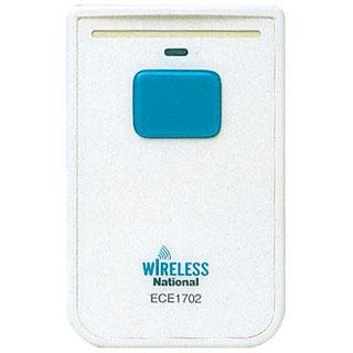 【まとめ買い10個セット品】小電力型 ワイヤレスコール カード発信器 ECE1702P【 店舗備品・防災用品 】 【ECJ】