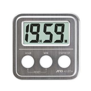 【まとめ買い10個セット品】A&D 20時間タイマー(ステンレストップ)AD5714【 タイマー 】 【ECJ】