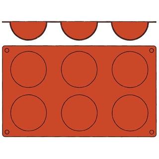 【まとめ買い10個セット品】 【業務用】ガストロフレックス 半球型 L(1枚)2579.04
