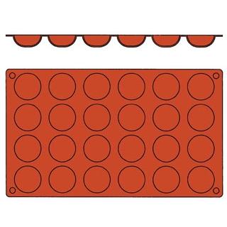 【まとめ買い10個セット品】 【業務用】ガストロフレックス 丸底プチフール(1枚)2579.13