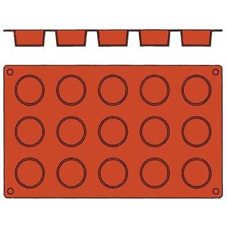 【まとめ買い10個セット品】 【業務用】ガストロフレックス 丸平プチフール(1枚)2579.16
