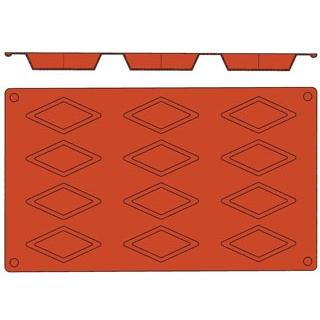【まとめ買い10個セット品】 【業務用】ガストロフレックス 菱形(1枚)2579.11
