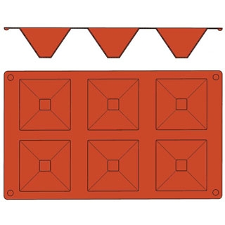 【まとめ買い10個セット品】 【業務用】ガストロフレックス ピラミッド L(1枚)2579.21