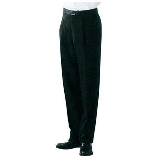 【まとめ買い10個セット品】 【業務用】スラックス DL2969-9 ツータック 黒 ウエスト88cm