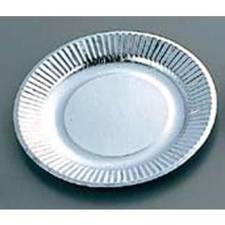【まとめ買い10個セット品】紙皿(100枚入)シルバープレート 05075 8号【 厨房消耗品 】 【ECJ】