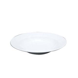 【まとめ買い10個セット品】 【業務用】ファッションホワイト 23cm スーププレート FM900-222