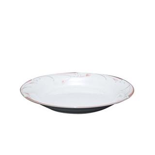 【まとめ買い10個セット品】フラワーピンク 24cm パスタプレート OFM01-400【 和・洋・中 食器 】 【ECJ】