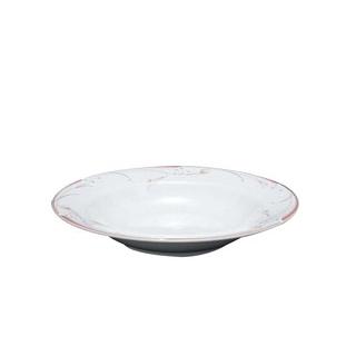 【まとめ買い10個セット品】フラワーピンク 23cm スーププレート OFM01-222【 和・洋・中 食器 】 【ECJ】