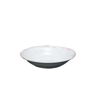 【まとめ買い10個セット品】 【業務用】フラワーピンク 19cm スーププレート OFM01-220
