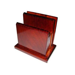 【まとめ買い10個セット品】 【業務用】木製 角 メニュー・ナフキン立(15190)