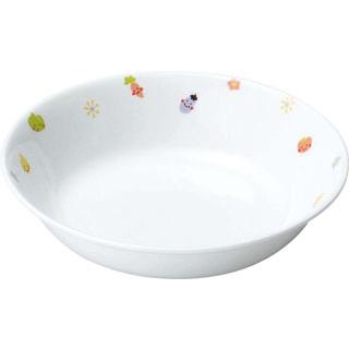 【まとめ買い10個セット品】 【業務用】リ・おぎそ 子ども食器シリーズ 深皿 16.6cm 1143-1230