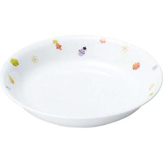 【まとめ買い10個セット品】 【業務用】リ・おぎそ 子ども食器シリーズ 皿 16.5cm 1035-1230