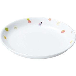 【まとめ買い10個セット品】 【業務用】リ・おぎそ 子ども食器シリーズ 皿 17.2cm 1148-1230