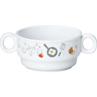 【まとめ買い10個セット品】 【業務用】リ・おぎそ 子ども食器シリーズ 両手碗 1910-1240