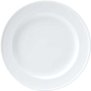 【まとめ買い10個セット品】 【業務用】おぎそ 軽量高強度磁器 ディナー皿 26cm 1605-0000