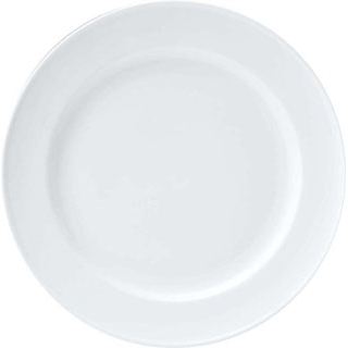 【まとめ買い10個セット品】 【業務用】おぎそ 軽量高強度磁器 デザート皿 20cm 1603-0000