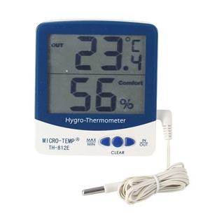 【まとめ買い10個セット品】 【業務用】デジタル IN-OUT温湿度計 NO.TH-812E