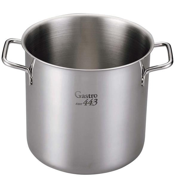 【業務用】【 即納 】 EBM Gastro 443 寸胴鍋(蓋無)50cm