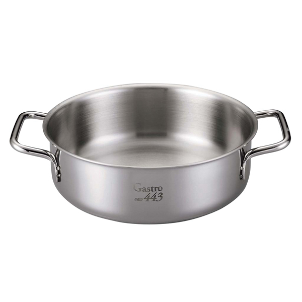 【まとめ買い10個セット品】 【業務用】【 即納 】 EBM Gastro 443 外輪鍋(蓋無)32cm