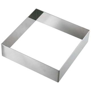 【まとめ買い10個セット品】 【業務用】EBM 18-8 アルゴン正角型セルクルリング 150×150×H40