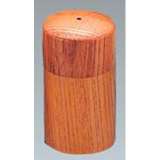 【まとめ買い10個セット品】 【業務用】ウッドイン 筒型 塩入れ(1ツ穴)ナチュラル(15216)