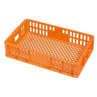【まとめ買い10個セット品】 【業務用】セキスイ コンテナー BT-20M オレンジ PP